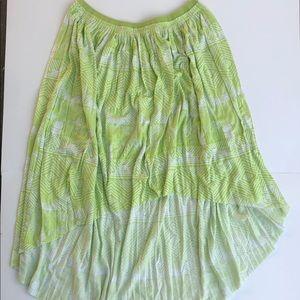 American Eagle sz M High Low skirt